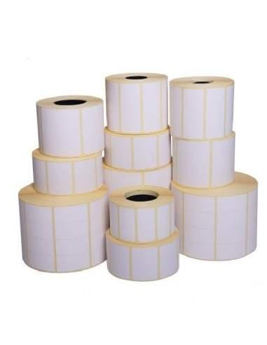 Etichette adesive in rotoli - f-to. 58X80,5 mm (bxh) - Termica