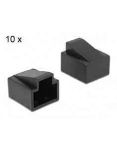 Set 10 Cappucci Di Protezione Antipolvere Per Connettori Rj45