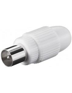 Connettore Coassiale In Plastica Fissaggio A Vite Maschio