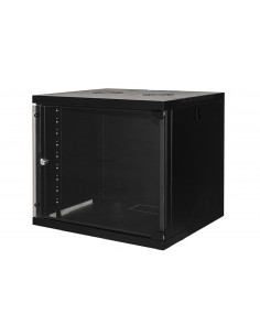 "Armadio Rack 19"" 9 Unita' Da Muro Per Reti (A)485 X (L)540 X (P) 450 Mm Colore Nero"