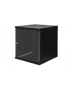 """Armadio Rack 19"""" 12 Unita' Da Muro (A)620X (L)540 X Profondita' 600 Mm. Colore Nero"""