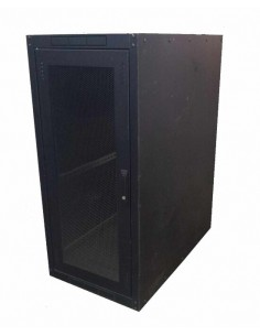 "Armadio 26 Unita' Linea Eco Server 19"" Da Assemblare Mm. (A)1300 X (L)600 X (P)1000 Colore Nero Ral 9005"
