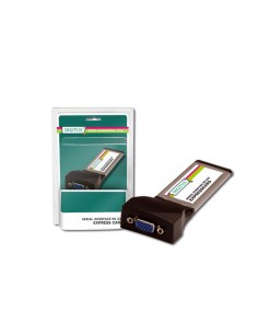 Scheda Express Card Con 2 Porte Seriali 9 Poli Rs232