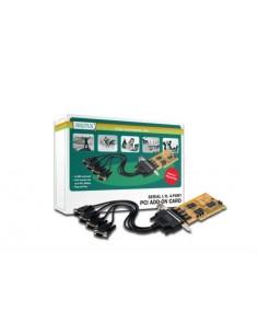 Scheda Aggiuntiva Interfaccia Seriale Rs232 Pci 9 Poli Maschio 4 Porte