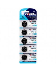Batterie Cr2016 3 Volt Blister 5 Pezzi
