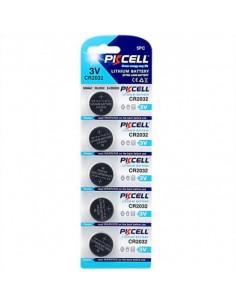 Batterie Cr2032 3 Volt Blister 5 Pezzi