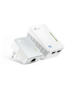 Starter Kit Powerline Av500 Wireless N300Mbs Con 2 Porte Ethernet