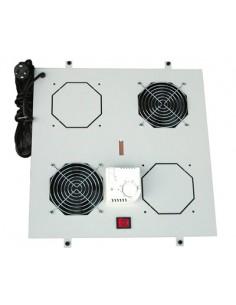 Kit 2 Ventole Con Termostato Per Armadi Linea Professionale (Dn-19 Fan-2)