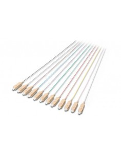 Set 12 Cavi Pigtail Fibra Ottica Colorati Connettori Sc Om2 50/125 Simplex