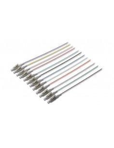 Set 12 Cavi Pigtail Fibra Ottica Colorati Connettori Lc Om2 50/125 Simplex