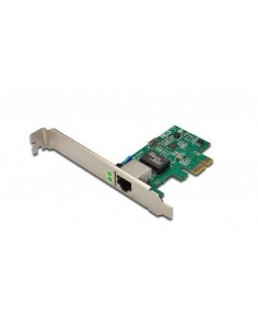 Scheda Di Rete Pci-Express Gigabit Ethernet Digitus Con Staffa Low Profile
