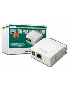 Print Server Di Rete Con Una Porta Rj45 10/100 Mbps Per Stampanti Centronics Parallele 36 Poli
