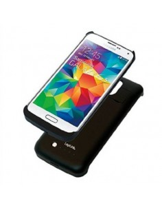 Cover Con Batteria Incorporata Per Samsung S5 Colore Nero