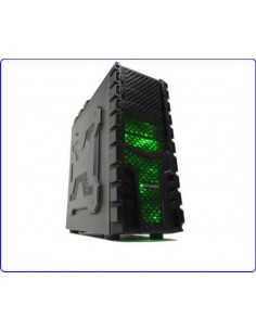 Case Game Atx X-Machine Usb 3,0, 3 Ventole Da 12Cm Con Luce Verde