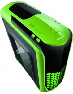 Case Atx Shield Verde, 3 Fan Da 12Cm, Audio Hd