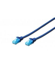 Cavo Rete Utp Cat. 5E Non Schermato - Lunghezza Mt. 0,5 - Colore Blu