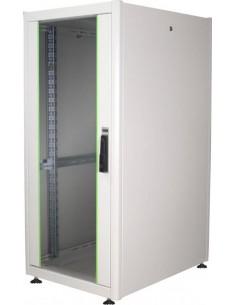 """Armadio 26 Unit〠19"""" Per Reti E Server Misure (A)1299 X (L)600 X (P)800 Mm. Colore Grigio Chiaro"""