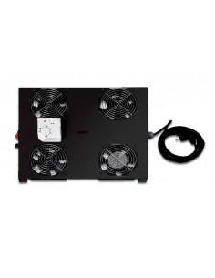 Kit 2 Ventole Con Termostato Per Armadi Linea Professionale Colore Nero