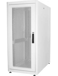 """Armadio 26 Unit〠19"""" Per Reti E Server Misure (A)1299 X (L)600 X (P)1000 Mm. Colore Grigio Chiaro"""
