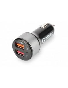 Caricabatteria Per Auto Quick Charge 3,0 2 Porte 3 Ampere Max