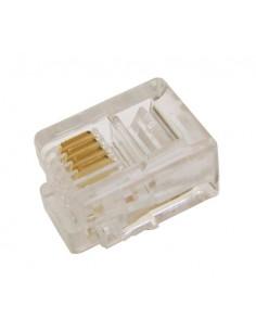 Connettore Plug Telefonico 4 Conduttori 6 Posizioni 6P4C (A-Mo 6/4 Sf)