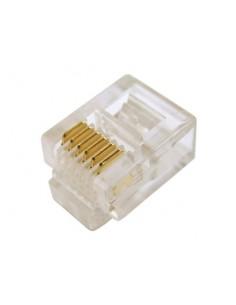Connettore Plug Telefonico 6 Conduttori 6 Posizioni 6P6C Rj12