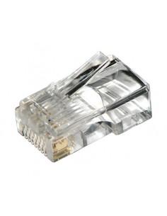 Connettore Plug 8 Poli Cat. 5E Utp Non Schermato Rj45 Per Cavo Rete Flessibile