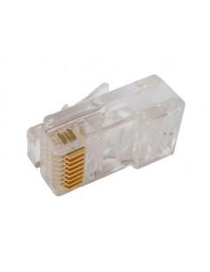 Connettore Plug 8 Poli Cat. 5E Utp Rj45 Non Schermato Per Cavo Rete Solido