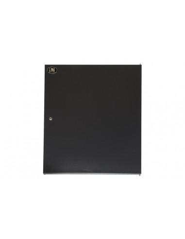Porta Chiusa In Metallo Pieno Con Serratura Per Armadio Link 15U Lk1915Unf Nero