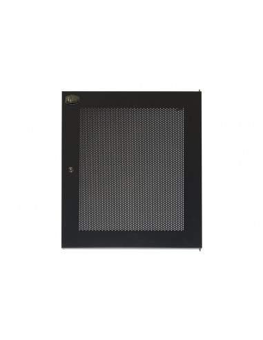 Porta Metallo Traforata Con Serratura Per Armadio Link 15U Lk1915Unf Nero