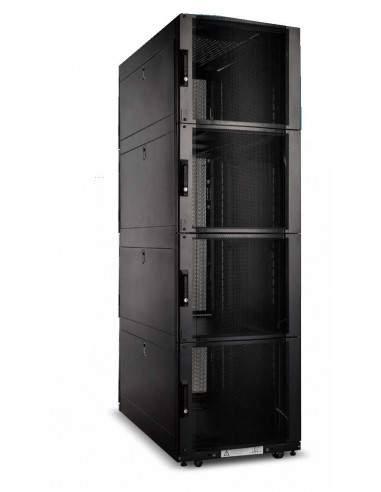 """Armadio Rack 19"""" 42U Con 4 Compartimenti 1992(A) X 1070(P) X 600(L) Nero"""