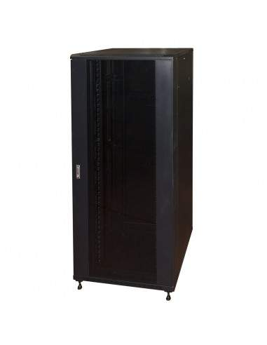 "Armadio Rack 19"" 42U (A)2055, (L)800, (P)800 Colore Nero"
