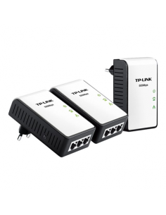 Powerline Mini Kit 3 Pz. Av500 500 Mbps 3 Porte