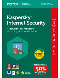 Kaspersky Internet Security 1 Utente Attach Deal 1 Anno
