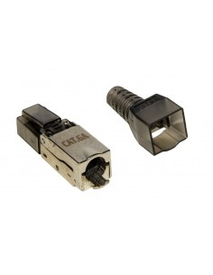 Connettore 8 Poli Cat 6A Schermato Rj45 Tooless