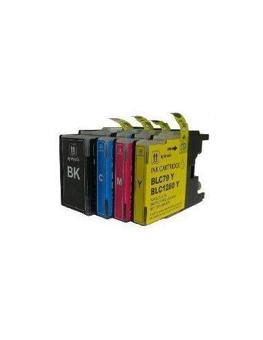 20ML Compatible per Brother Mfc J6510DW,J6910DW.LC-1280XLM