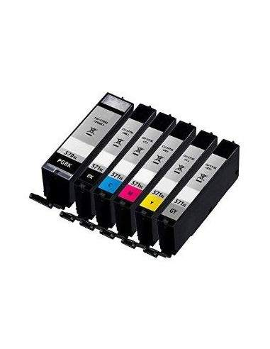 10.8ML Dye With chip MG5700,MG6800,MG7700CLI-571CXL