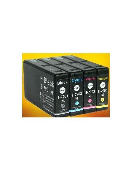 42ML Black Pigment WF4630,4640,5110,5190,5620,5690-2.6K79XL