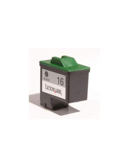 14ML Rigenerata Lexmark Jet Printer Z13/Z23/Z23E -Nera 16