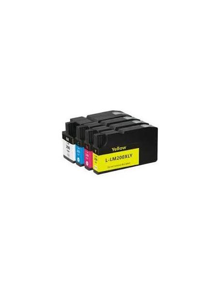 32ML Yellow for Lexmark Pro4000C Pro5000T-1.6K14L0200