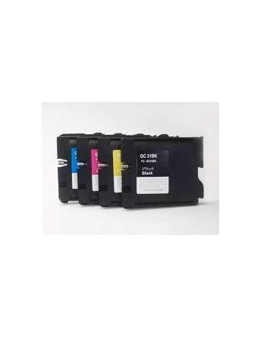 30ML Pigment for Ricoh GX e2600,e3000N,e3300N,e3350nCiano