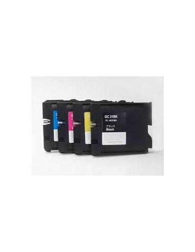 30ML Pigment for Ricoh GX e2600,e3000N,e3300N,e3350nYellow