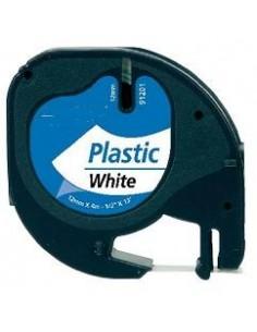 BK-White 12mmX4m Plastica for Dymo 2000,LT100H,QX50S0721660