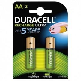 Stilo AA ricaricabili 2x 2400mAh 1,2v HR6 Duracell