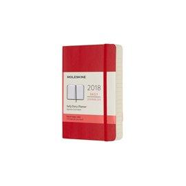 Agenda Giornaliera Pocket rossa Soft - Moleskine - DSF212DC2Y18