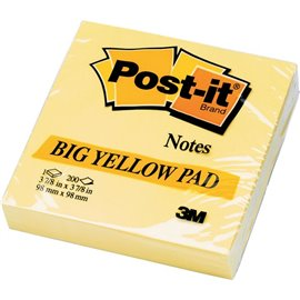 Post-it® Note Large Pad - giallo canary - neutra - 200 - 5635