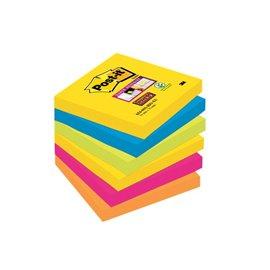 Foglietti Post-It® Super Sticky Rio De Janeiro - 76x76 mm - 654-6Ss Rio-Eu (Conf.6)