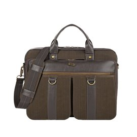 Borsa laptop Bradford Solo - nero Denim - EXE335-3