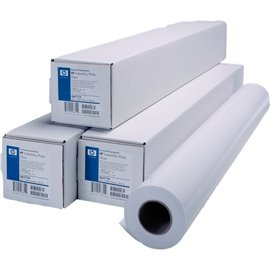 Carta plotter HP - inkjet - universale - 61 cm - 45,7 m - 80 g/mq - Q1396A