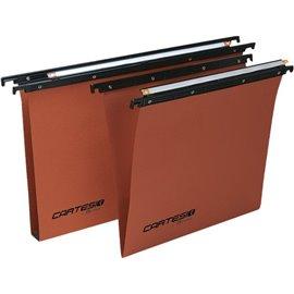 Cartelle sospese Linea Cartesio Bertesi - per cassetto - 33÷33,8 cm - V - 100/330 -B2 (conf.50)